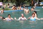 piscina, adultos, agua, termas