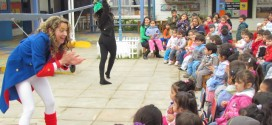 Con Teatro Infantil Itinerante Promueven Estilos de Vida Saludables
