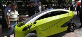 """Sôki"" Primer Auto Eléctrico Creado por un Chileno Recorrió Rancagua"