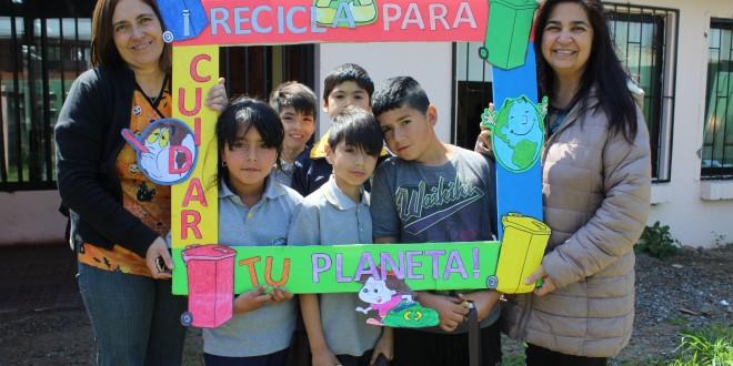 Salud Machalí Impulsa el Reciclaje en los Alumnos de San Joaquín de los Mayos