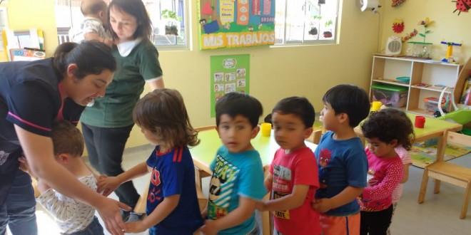 Litueche;  Jardín Infantil de Hospital Efectuó Simulacro de Terremoto
